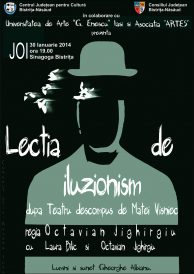 Teatru: Lecția de iluzionism după Teatru descompus de Matei Vișniec