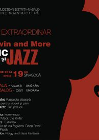 "Recital extraordinar ""Gershwin and More"" – Clasic și Jazz"
