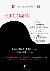 Recital cameral susținut de Ramona Jannert-Telcian și Gustav Jannert