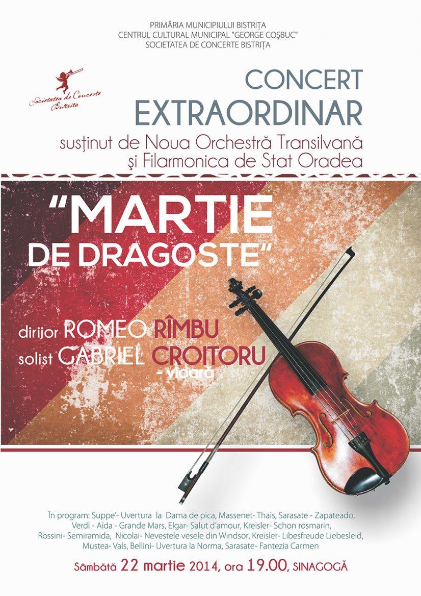 Concert extraordinar: Martie – de dragoste