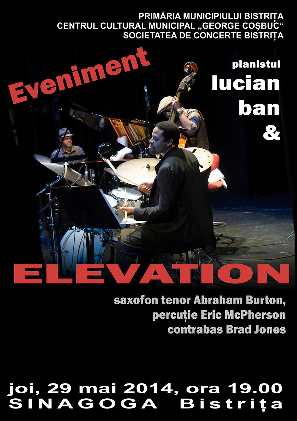 Poster Concert Elevation