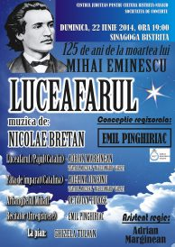 Luceafărul: Spectacolul de operă în primă audiție la Bistrița