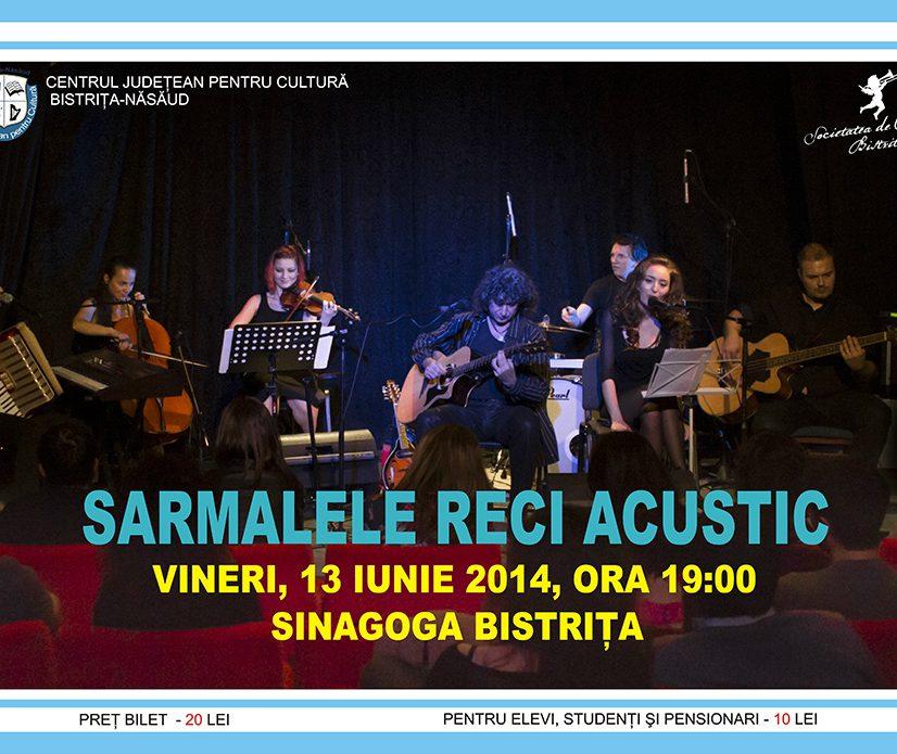 Premieră la Bistrița: concert acustic Sarmalele Reci