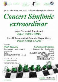 Concert aniversar: 15 ani de la infiintarea Noii Orchestre Transilvane