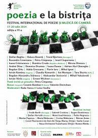 Poezia e la Bistrița 2014 – Festival internațional de poezie și muzică de cameră
