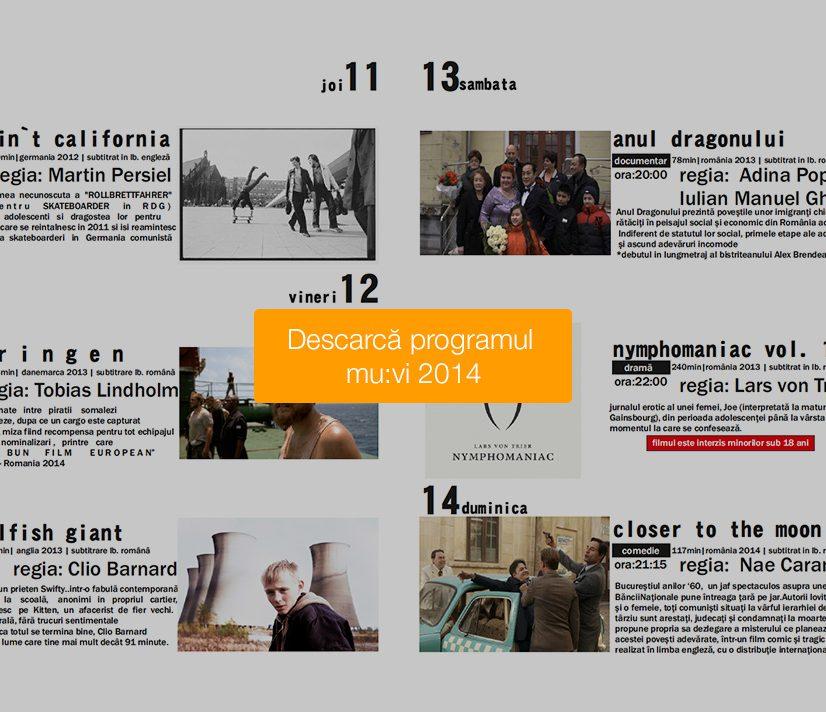 Festivalul anual de film: Mu:vi – ediția a 9-a