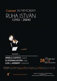 Concert In Memoriam Ștefan Ruha