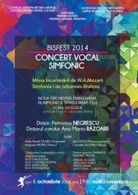 Concert vocal simfonic – Noua Orchestră Transilvană și Corul Excelsior