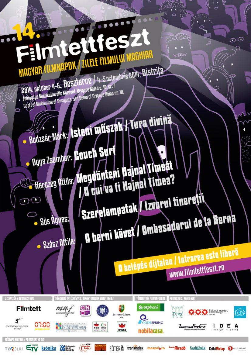 Filmtettfeszt – Zilele filmului maghiar – 4-5 Octombrie 2014