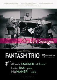 Concert eveniment de jazz: lansare Fantasm Trio – The Loft Sessions