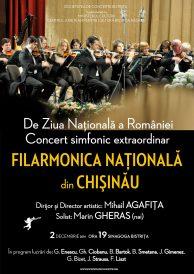 Concert simfonic extraordinar de Ziua Națională a României