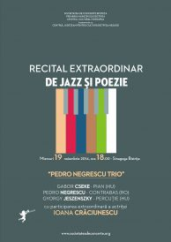 Recital extraordinar de jazz și poezie