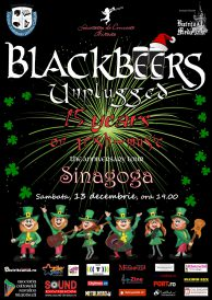 Concert aniversar de irish-music: Blackbeers – unplugged