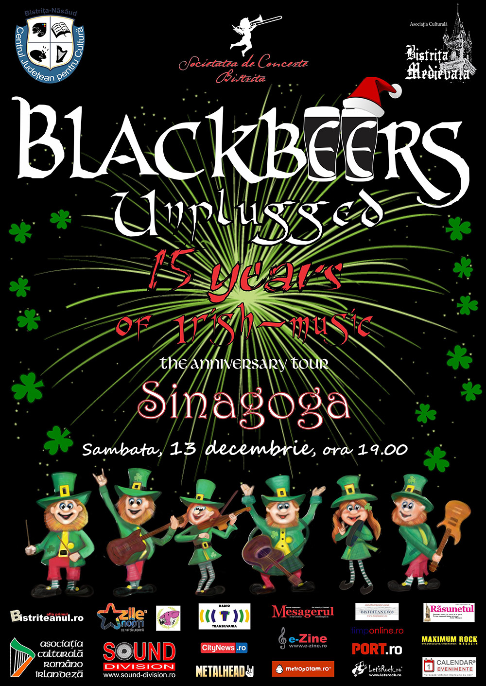 Blackbeers---15-years-of-Celtic-Rock-poster-Tour-Bistrita