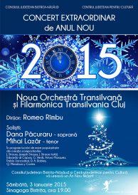 Concert extraordinar de Anul Nou 2015