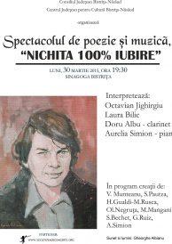 Nichita 100% iubire – Spectacol de poezie și muzică
