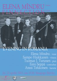 Elena Mîndru Finnection – Evening in Romania