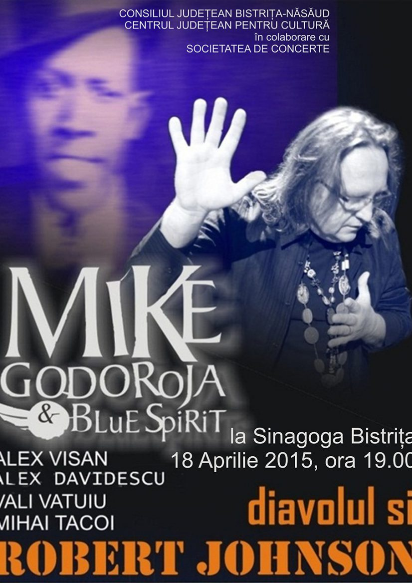 Concert extraordinar Mike Godoroja & Blue Spirit – Diavolul și Robert Johnson