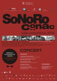 SoNoRo Conac 2015 – Concert extraordinar la Biserica Evanghelică din Herina