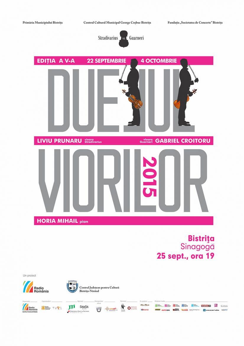 Concert eveniment: Duelul Viorilor – Stradivarius vs. Guarneri. Runda a V-a