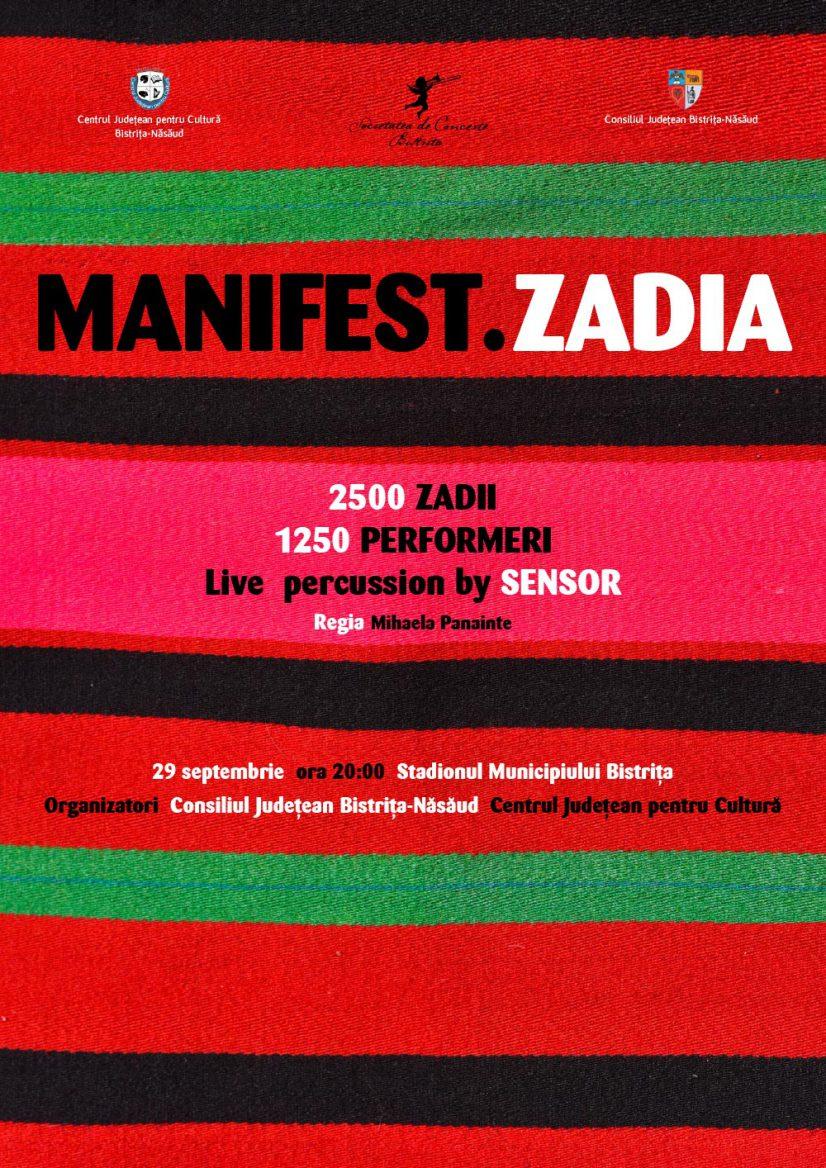 Manifest. Zadia