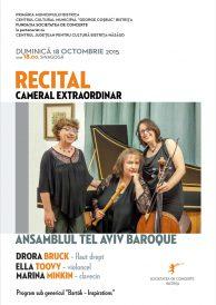 Recital cameral extraordinar – Ansamblul Tel Aviv Baroque