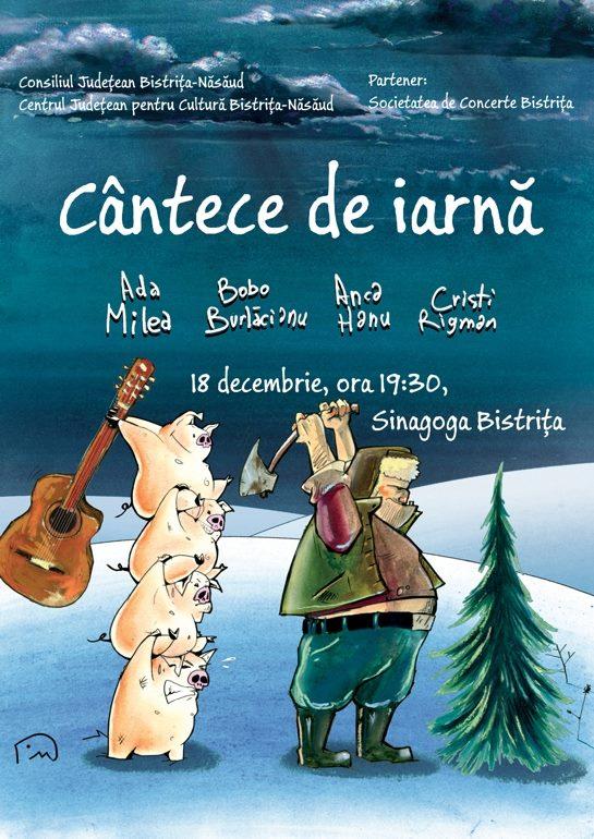 Ada Milea, Bobo Burlăcianu, Anca Hanu, Cristi Rigman: Cântece de iarnă