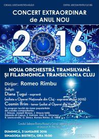 Concert extraordinar de Anul Nou 2016