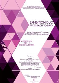 Recital Exhibition Duo – From Bach to Bach