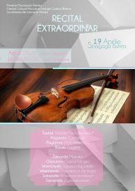 Recital extraordinar de vioară și pian