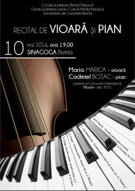Recital de vioară și pian