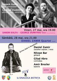 Două concerte Green Hours Jazz Fest la Sinagogă