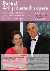 Recital de arii și duete din opere