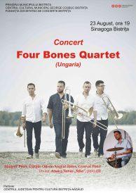 Concert de tromboane: Four Bones Quartet (Ungaria)