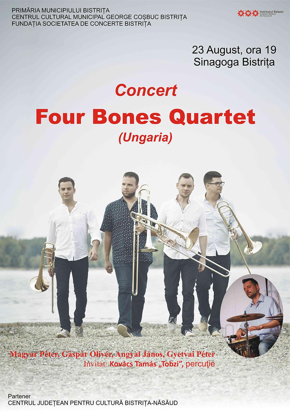 poster_concert_four_bones_quartet