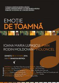 Recital de pian și violoncel – Emoție de toamnă