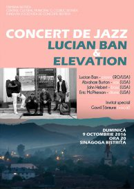 Concert de jazz – Lucian Ban & Elevation