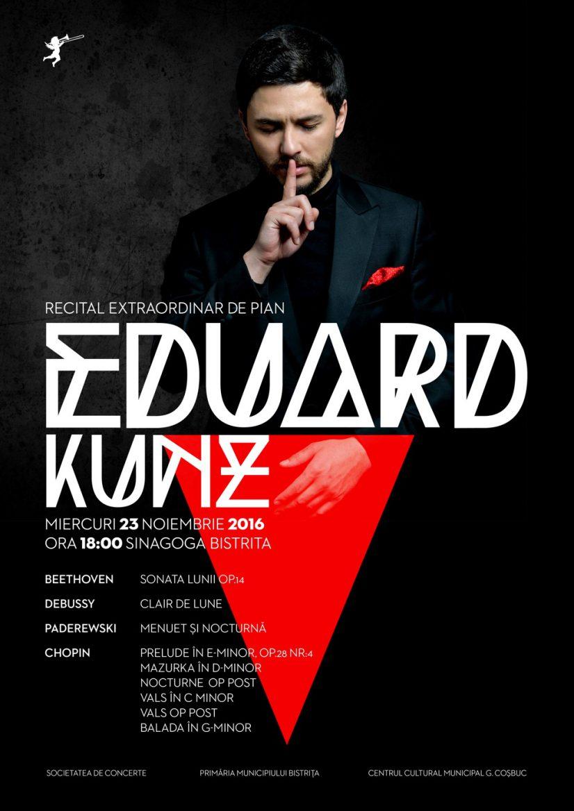 Recital extraordinar de pian – Eduard Kunz