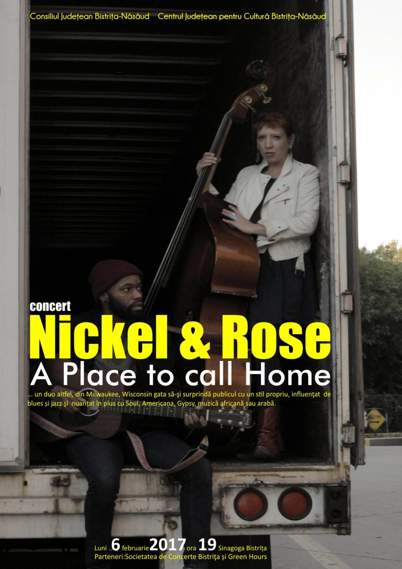 Concert NICKEL & ROSE – A Place to call Home