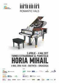 Turneul extraordinar Pianul Călător cu Horia Mihail la Bistrița 2017