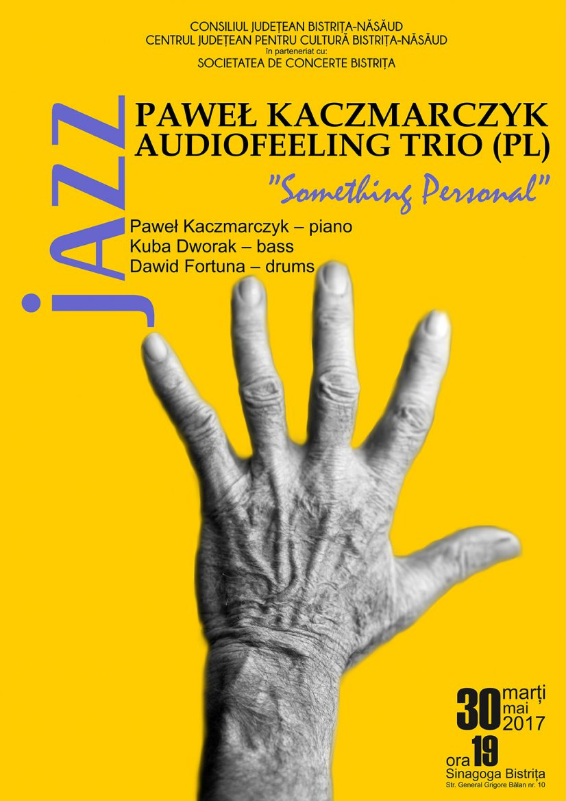 Concert de jazz: Audiofeeling Trio (Polonia) – Something Personal