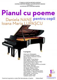 Spectacol special de 1 iunie – Pianul cu poeme pentru copii