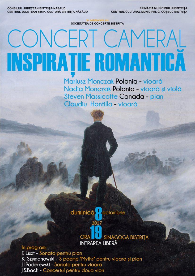 "Concert cameral ""Inspirație romantică"""
