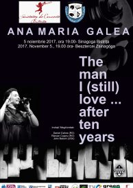 Concert de jazz: Ana Maria Galea –  The man I (still) love… after ten years