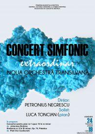 Concert extraordinar Noua Orchestră Transilvană
