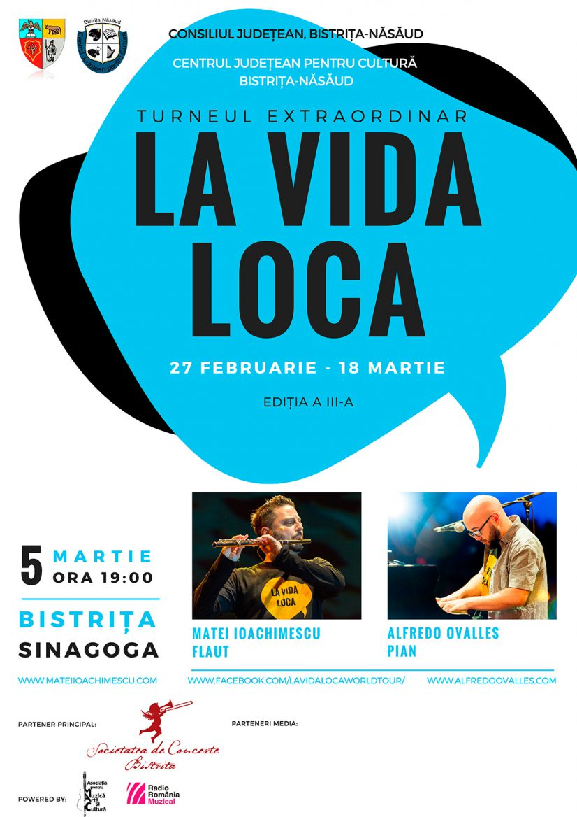 Turneul extraordinar La Vida Loca – Matei Ioachimescu și Alfredo Ovalles