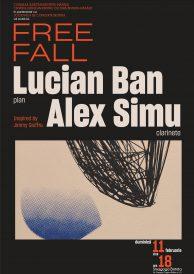 "Concert de jazz ""Free fall"": Lucian Ban și Alex Simu"