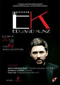 Recital extraordinar de pian susținut de Eduard Kunz