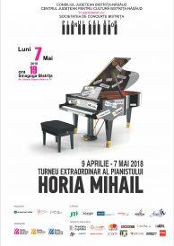 PIANUL CĂLĂTOR – turneul extraordinar al pianistului HORIA MIHAIL