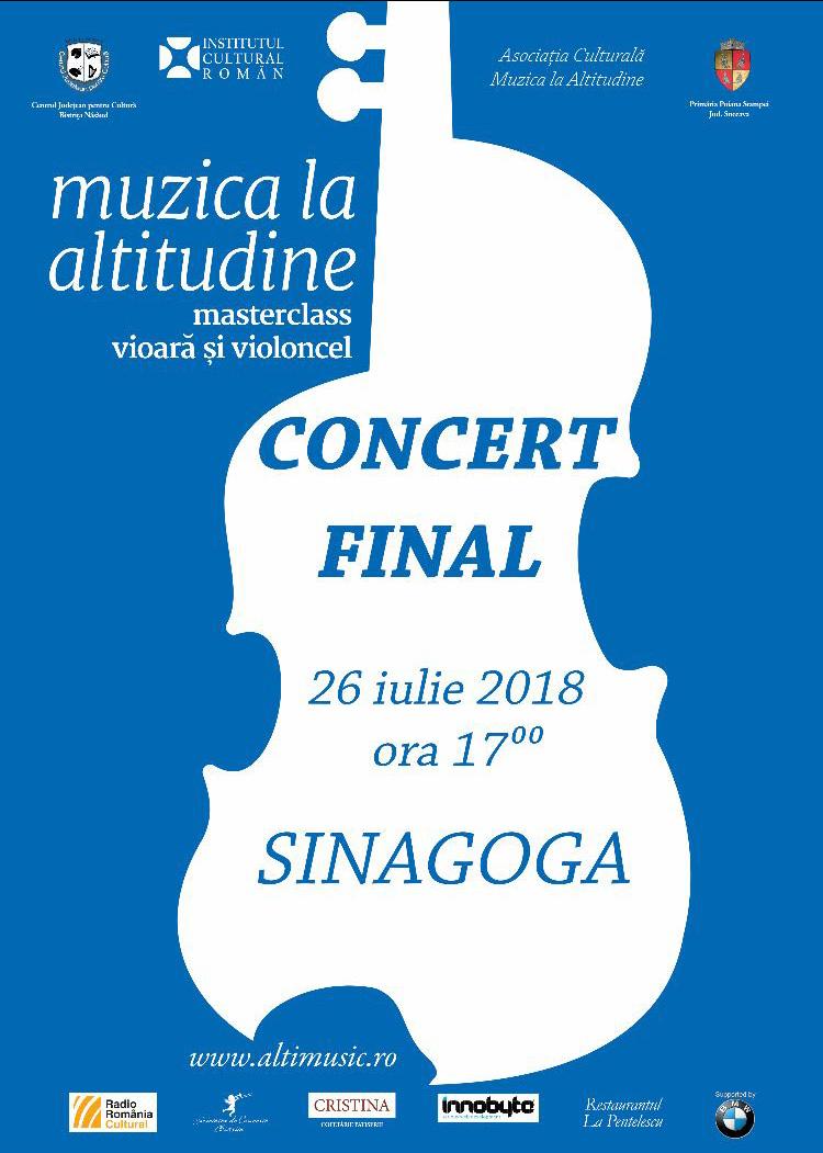 Muzica la altitudine – Concert final